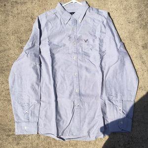 Other - Light blue/grey button down shirt